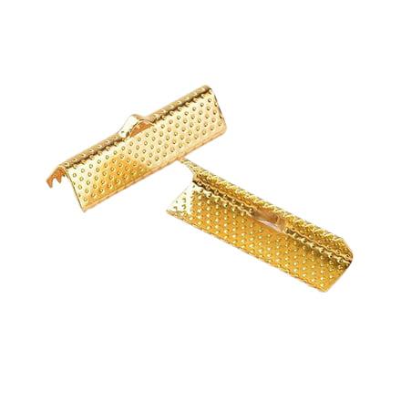 Lintklem goud 25mm lang