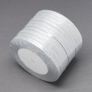 Rol lint zilver 6mm