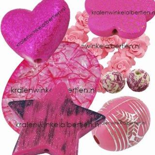 Roze kralen