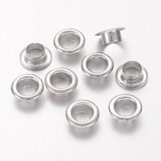 Nesteloogje zilver 5mm resin art sieraden maken leren