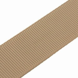 grosgrain lint 1cm licht bruin