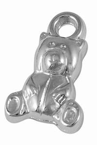 Beren bedels zilver kunststof bedelarmbanden maken