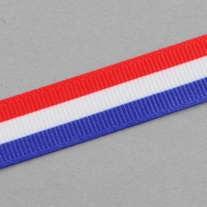 Lint rood wit blauw 16mm
