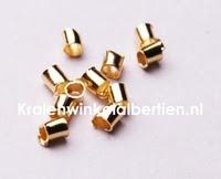 Kleine knijpkraaltjes goud sieraden maken