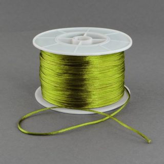 Nylon koord 1mm olijf groen