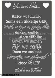 Betaalbare workshop tekstbord maken Friesland Groningen Personeelsuitjes
