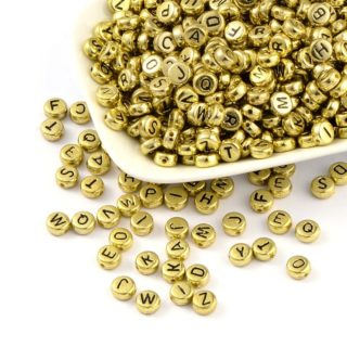Letterkraaltjes goud