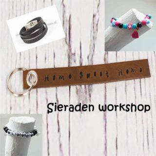 Sieraden workshop friesland vrijgezellenfeestje babyshower
