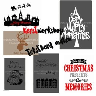 Kerstworkshop