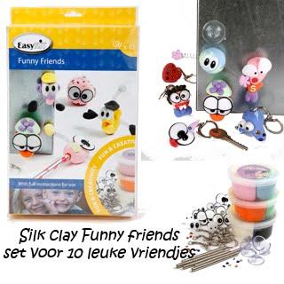 DIY kinderfeestje silk clay