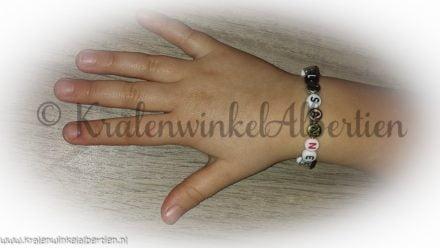 Naam Armband letterkralen