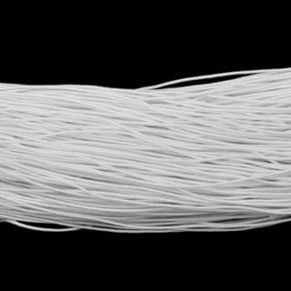Wit elastiek 1mm sieranden maken