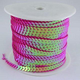 Paillettenband paars roze