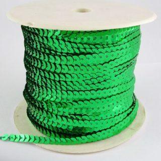 Paillettenband groen