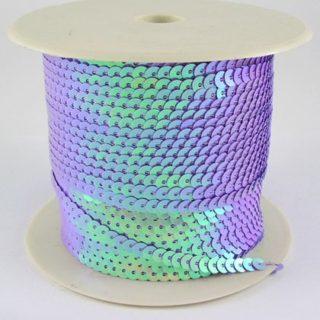Paillettenband paars