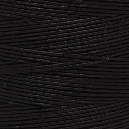Polyester waxkoord zwart