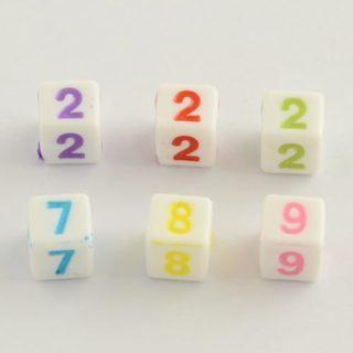 Cijferkralen vierkant