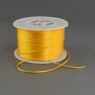 Nylon koord goud geel 1mm