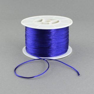 Nylon koord blauw 1mm