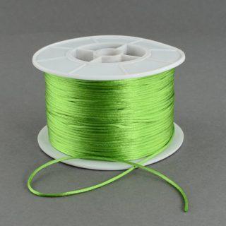 Nylondraad groen 1mm dik