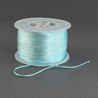 Nylon koord lichtblauw 1mm