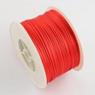 Nylon koord rood 1mm