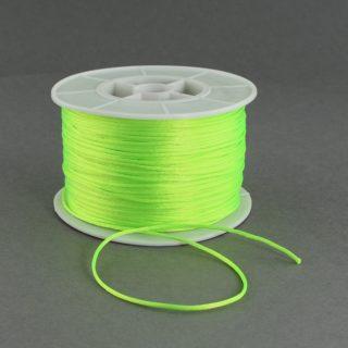 Nylon koord neon geel 1mm
