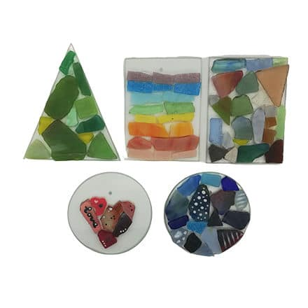 Glashangers mozaïek workshop pakket voor thuis