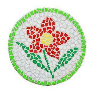 Mozaiek pakketje bloem