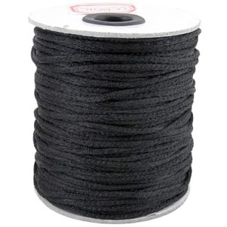 Nylon koord zwart 2mm