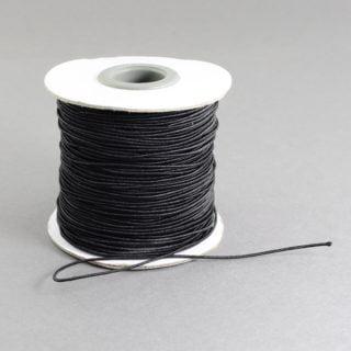 Rol elastisch nylon zwart