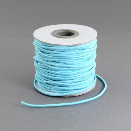 elastisch nylondraad lichtblauw 1mm goedkoop elastiek