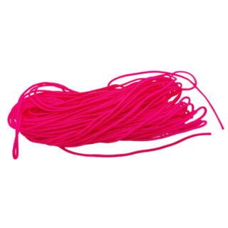 Nylon koord 0.7mm dik neon roze 9 meter