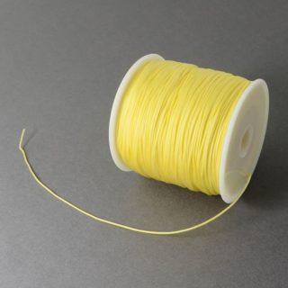 Nylon koord geel 0.7mm nylondraad goedkoop per meter