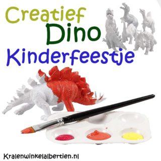 Creatieve kinderfeestjes Friesland jogens Dino feestje drachten heerenveen