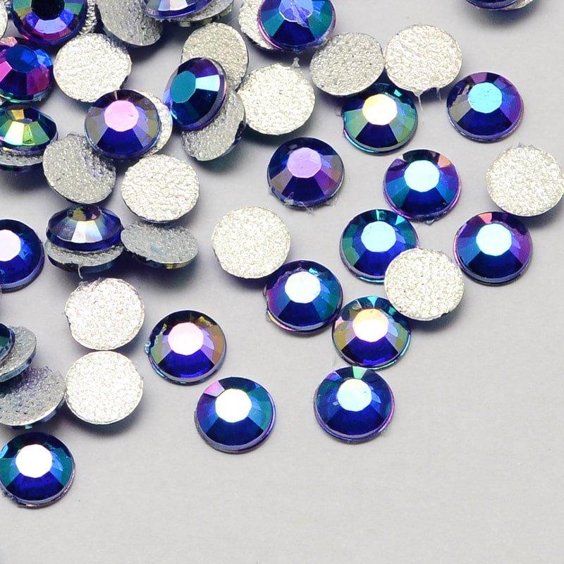 Strass steentjes blauw strass stenen glinster stenen