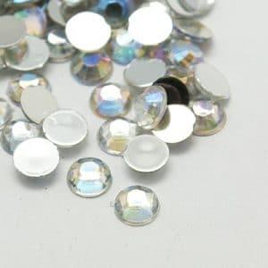 Strass steentjes transparant wit strass stenen glinster stenen