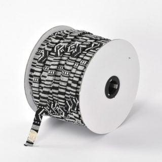Aztec koord groothandel verpakking 10mm zwart wit goedkoop aztec