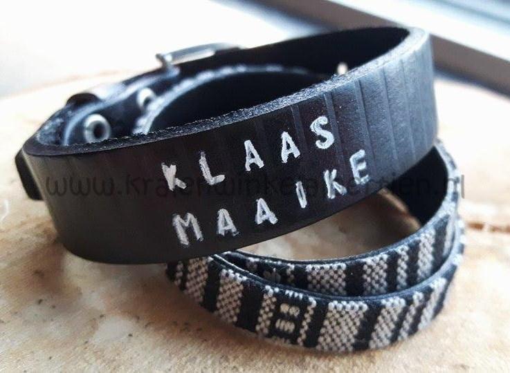Workshop Slagletters armband maken - Kralenwinkel Albertien