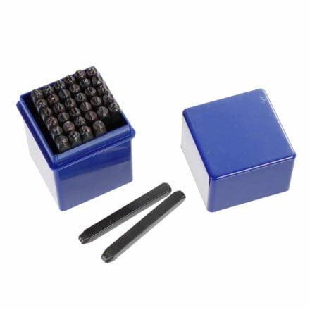 set alfabet slagstempels 3mm