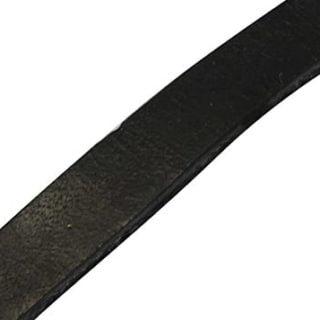 Leerstroken kopen zwart echt leer 35mm leerkoord leren strook