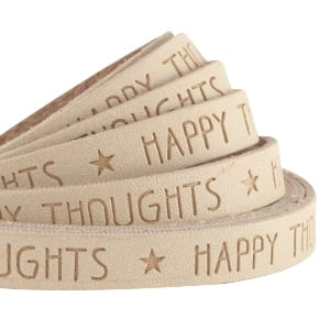 Quote Happy thoughts leer