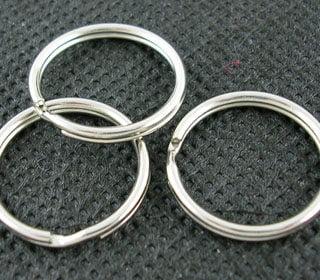 Sleutelringen 20mm sleutelring ring sleutelbos sleutelhangers maken kopen goedkoop