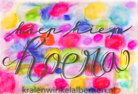Workshop handletteren handlettering Zig clean color kopen brush pen markers goedkoop