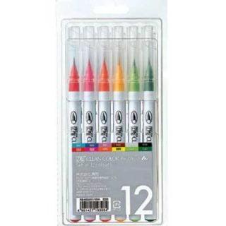 Zig clean color kopen real brush markers pennen schrijven met penseel basis set handletteren handlettering