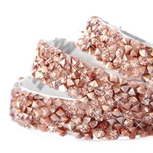 Crystal diamond tape 10mm Rosegold