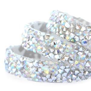Crystal diamond tape 10mm Silver-diamond
