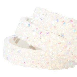 Crystal diamond tape white diamond 10mm