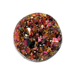 Cabochon druzy kristal 12mm