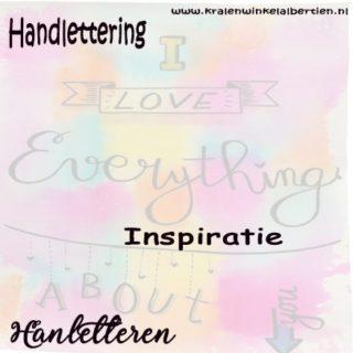 Handlettering inspiratie
